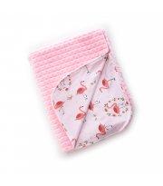 Плед Twins Trip Summer 104x80 1408-TTS-08 pink, розовый