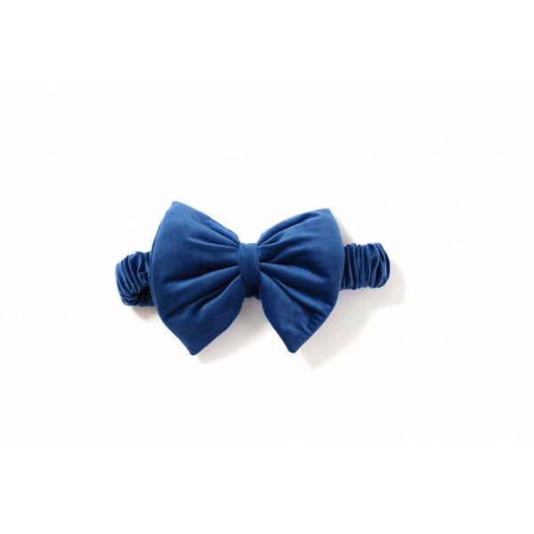 Декор Бантик в конверт Twins Bear & Velvet 7099-DB-09 dark blue, синий