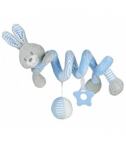 Плюшевая спираль Baby Mix STK-19391R Кролик STK-19391 BR, blue, голубой