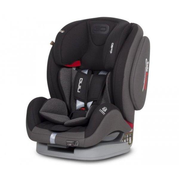 Автокресло EasyGo Nino 9-36 carbon черный