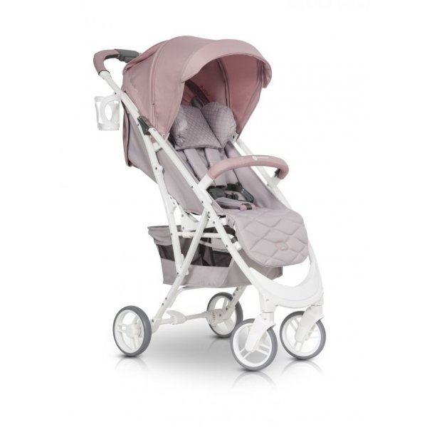Коляска Euro-Cart Volt Pro powder pink