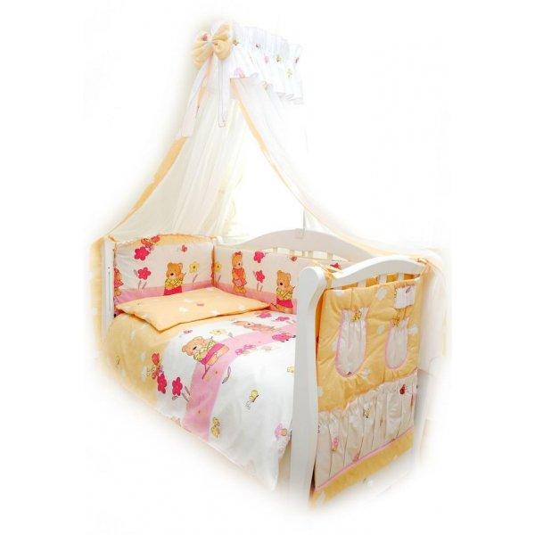 Постельный комплект Twins Comfort C-007 Садовники розовая