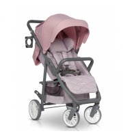 Коляска Euro-Cart Flex powder pink, розовый