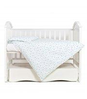 Сменная постель 3 эл Twins Romantic 3024-R-004, Сердечки мятный