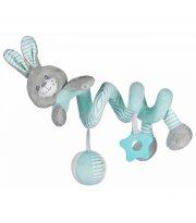 Плюшевая спираль Baby Mix STK-19391R Кролик STK-19391 MR, mint, м