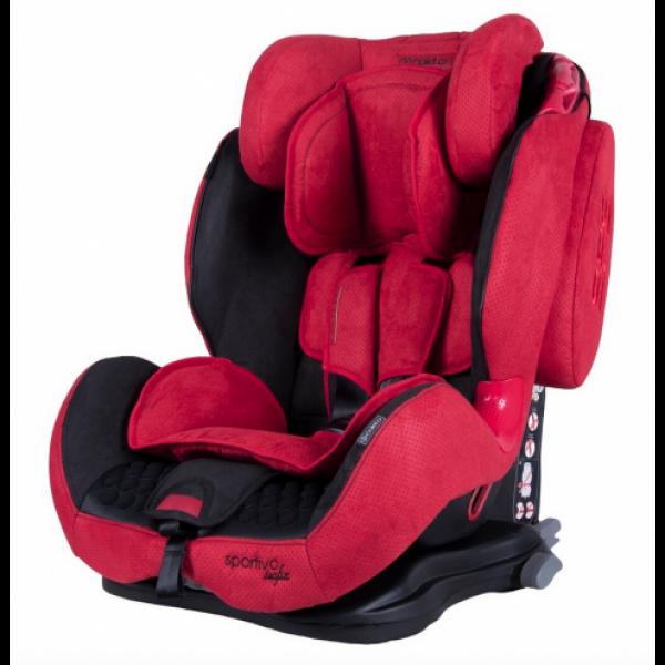 Автокресло Coletto Sportivo Isofix 9-36 9024-CSIs-12 red, красный