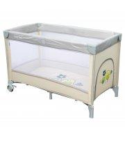Манеж-кровать Baby Mix Горобчики HR-8052 187 beige бежевый
