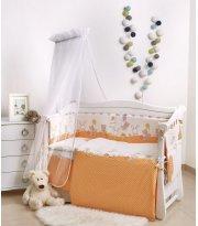 Детская постель Twins Comfort New Горошки 7 эл C-121 orange