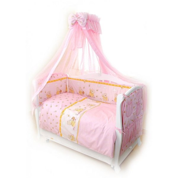 Постельный комплект Twins Comfort C-008 Медуны розовая