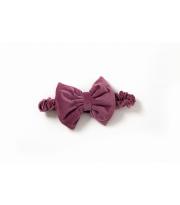 Декор Бантик в конверт Twins Bear & Velvet 7099-DB-23 purpur, розовый дым