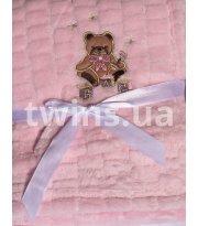 Плед Baby Mix TG-84230 80х104 см pink