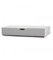 Короб маятникового механизма поперечный с ящиком 40.2.1.17, бело / серый, белый / серый