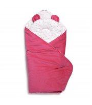 Набор конверт-плед с подушкой Twins Bear 9064-TB-24, fuchsia, фуксия