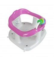 Креслице для купания Maltex Panda 6204 grey / pink, розовый / серый