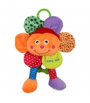 Плюшевая подвеска музыкальная Baby Mix STK-15588F Цветок STK-15588F, mix, мультиколир