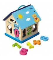 Деревянный сортер Домик Baby Mix HJ-D93754 HJ-D93754, multicolor, мультиколир