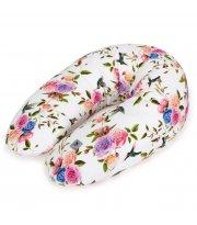 Подушка для беременных Cebababy Physio Multi Flora & Fauna Flores