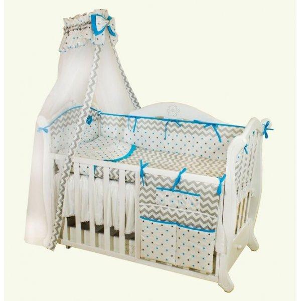 Детская постель Twins Premium Zigzag P-016