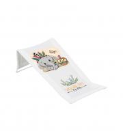 Горка для купания 3D мембрана Tega DZ-026 Дикий запад DZ-026-103 Elephant, white / green, белый / зеленый