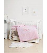 Сменная постель 3 эл Twins Limited 3099-TL-004, Dog & cat pink, розовый