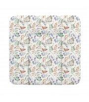 Пеленальный матрас Cebababy 75x72 Retro Autumn W-144-000-640, Rowanberry, мультиколор