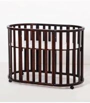 Кровать Twins Cozy овальное 160х60 9800-TC-160-07, орех, коричневый