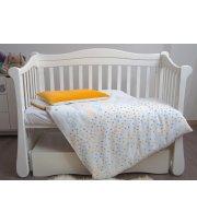 Сменная постель 3 эл Twins Eco Line New 3091-E-022, Bunnies mint, мятный