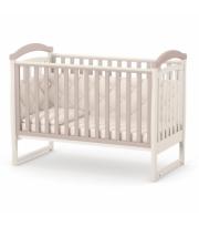 Кроватка Верес ЛД6 без колес без ящика 06.1.1.1.12, капучино / розовый, розовый