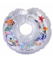 Круг для купания Дельфин 1111-KD-01 white, белый