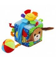 Мягкий Кубик Baby Mix TE-8561-10 TE-8561-10D, Песик, мультиколир