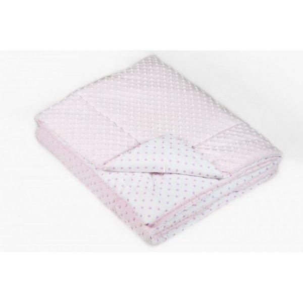 Одеяло в кроватку Twins Minky 120/160 pink