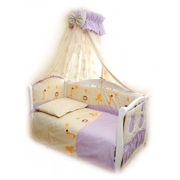 Сменная постель Twins Comfort C-003 Африка фиолетовый