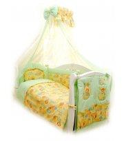 Сменная постель Twins Comfort С-012 Пушистые мишки зел