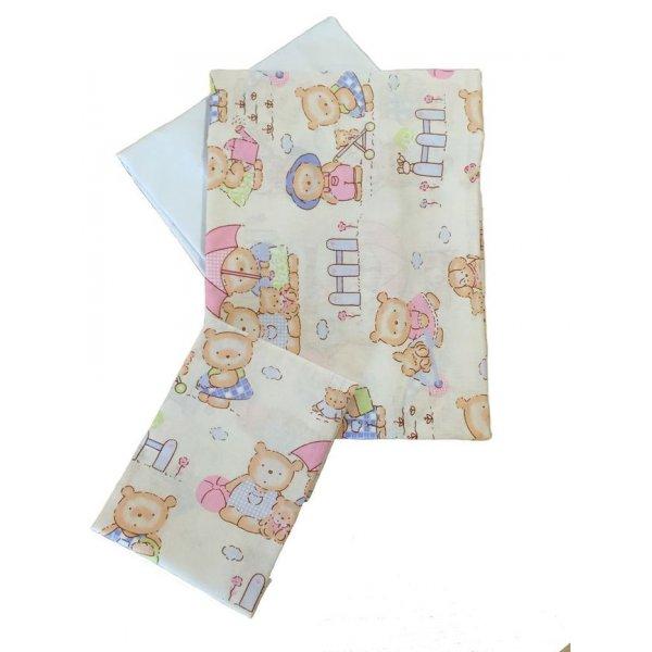 Сменная постель Twins Comfort С-013 Пушистые мишки роз