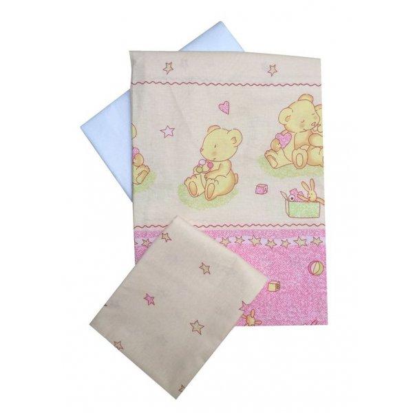 Сменная постель Twins Comfort С-016 Мишки с звездой роз