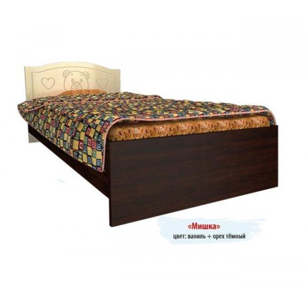 Детская кровать Вальтер Мишка без ящиков
