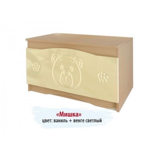 """Ящик для игрушек """"Мишка"""" №6"""