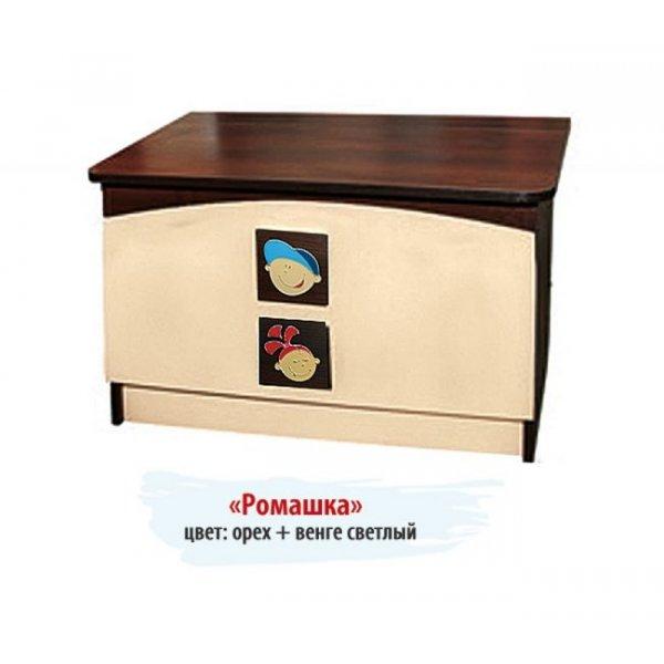 """Ящик для игрушек """"Ромашка"""" №3"""