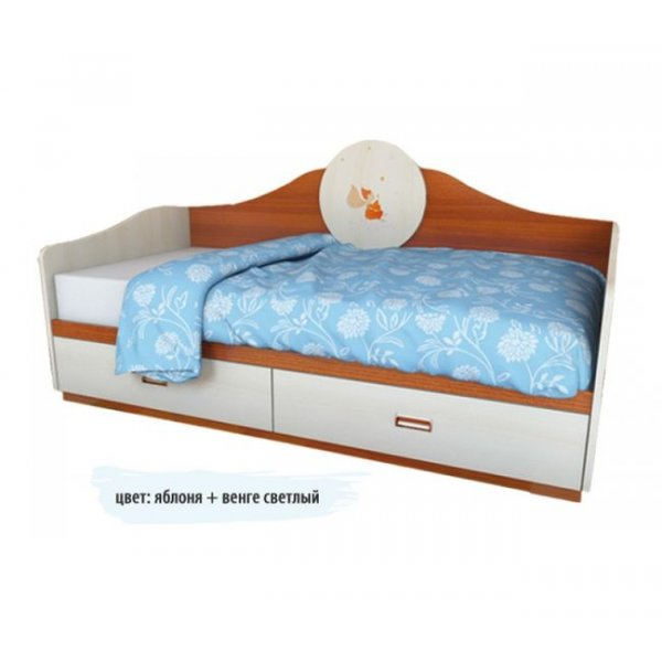 Детский диван 2 ящика