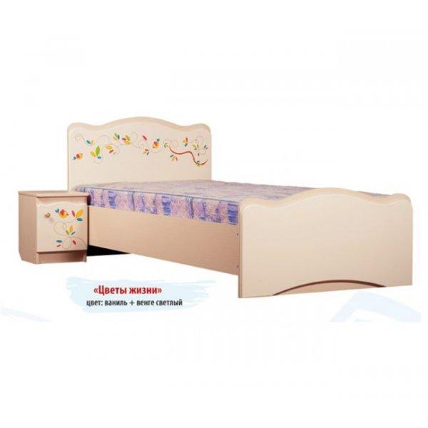 Детская кровать Вальтер Цветы жизни Без ящиков