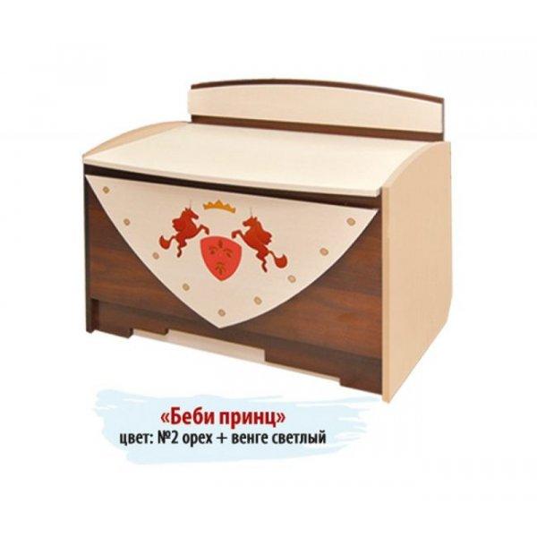 """Ящик для игрушек """"Беби принц"""" №1"""
