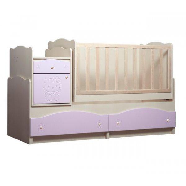 """Детская кровать Вальтер трансформер """"Kiddy"""" 5в1"""
