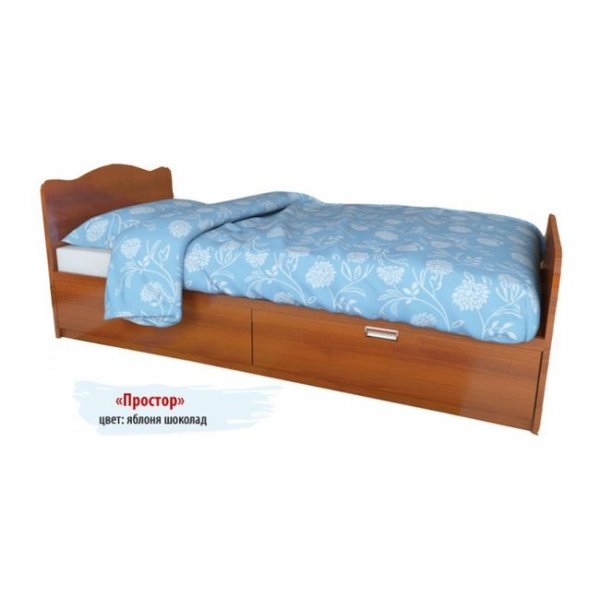 Детская кровать Вальтер Простор 2 ящика
