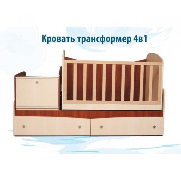 Детская кровать Вальтер Трансформер 4в1