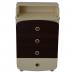 Комод-пеленатор Верес 600 ДСП (цвет: слоновая кость-орех)