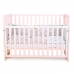 Кроватка Верес Соня ЛД13 (цвет: пудра) съемные спицы