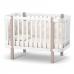 Кроватка Верес Монако (цвет: капучино-белый)