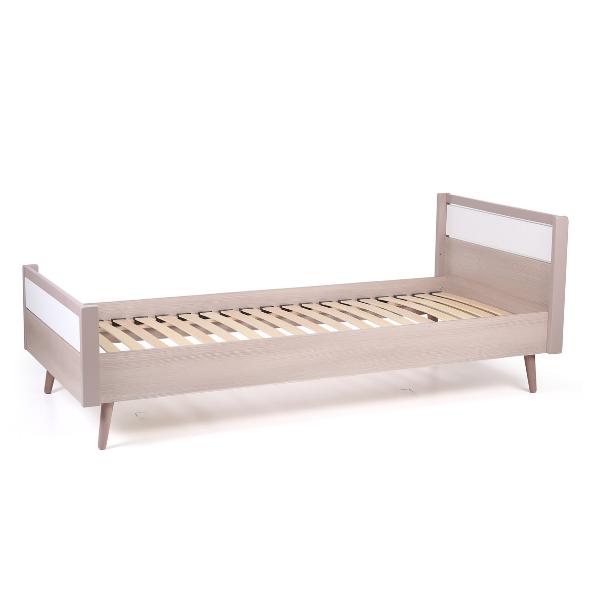 Кровать подростковая Верес Нью Йорк (цвет: капучино-белый) 190*80