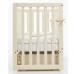Кроватка Верес Соня ЛД13 (цвет: слоновая кость) съемные спицы