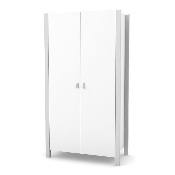 Шкаф Верес Монако (цвет: бело-серый)